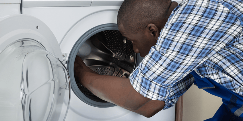 fixing dryer technician